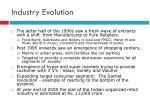 industry evolution1