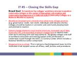 it 5 closing the skills gap2