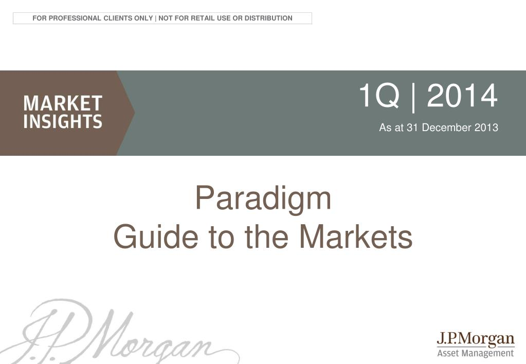 PPT - Paradigm Guide to the Markets PowerPoint Presentation