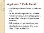 application 3 public health