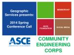geographic services presents 2014 spring conference call1