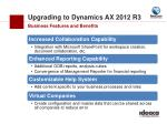 upgrading to dynamics ax 2012 r31