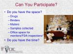 can you participate1