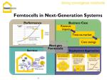 femtocells in next generation systems