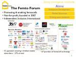 the femto forum