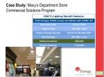 case study macy s department store commercial solutions program