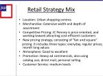 retail strategy mix