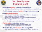 3in1 tool system features cont