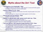 myths about the 3in1 tool