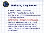 marketing navy stories