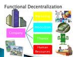 functional decentralization