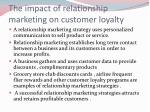 the impact of relationship marketing on customer loyalty