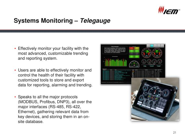 Systems Monitoring –