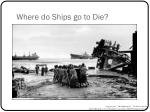 where do ships go to die