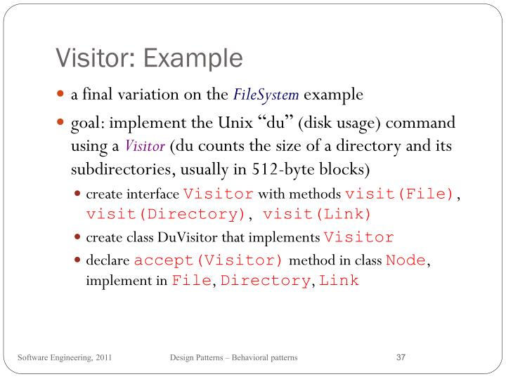 Visitor: Example