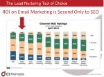 the lead nurturing tool of choice1