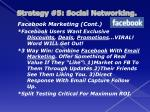 strategy 5 social networking1
