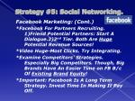 strategy 5 social networking2