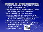 strategy 5 social networking5