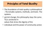 principles of total quality1