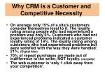 why crm is a customer and competitive necessity1