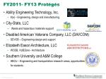 fy2011 fy13 prot g s