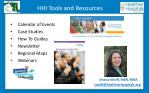 hhi tools and resources