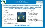 md h2e mission