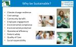 why be sustainable