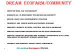 dream ecofarm community