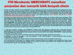 stn membantu merchants menaikan penjualan dan menarik lebih banyak clients