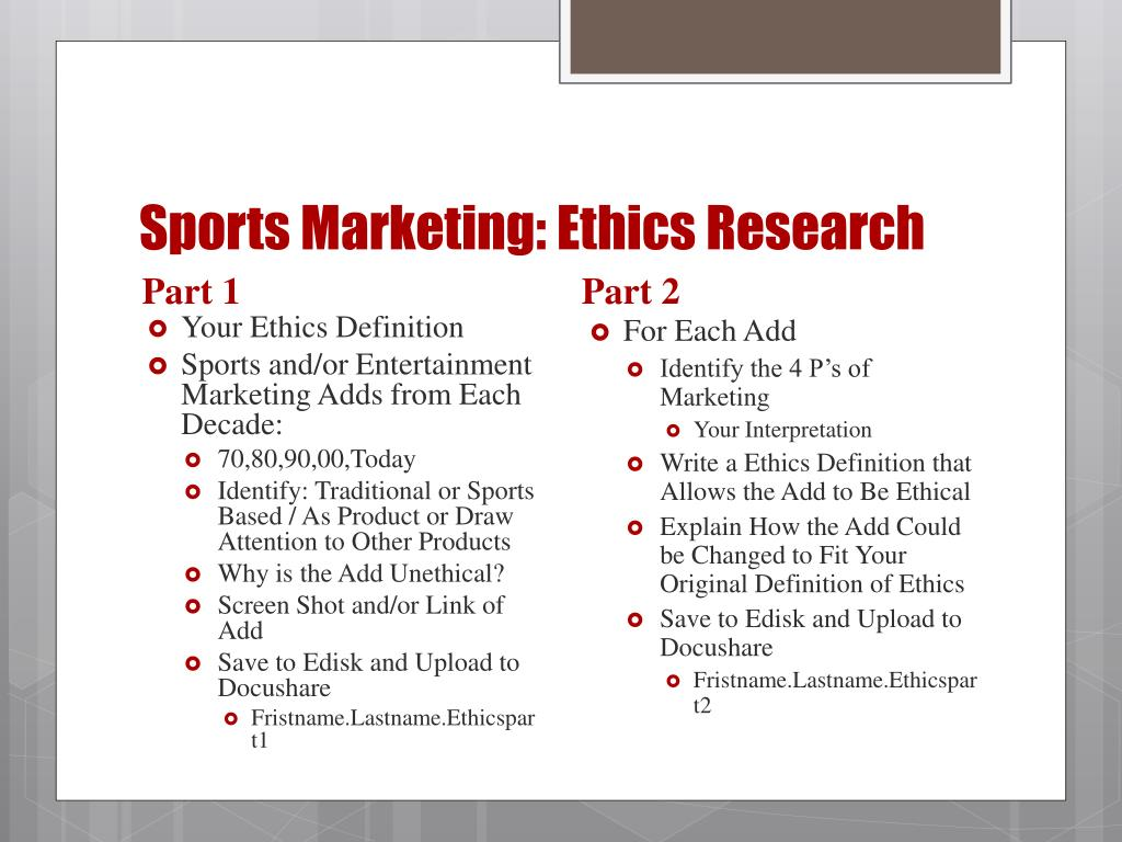 Ppt Sports Marketing Thursday 8 15 Powerpoint Presentation Free Download Id 1666160