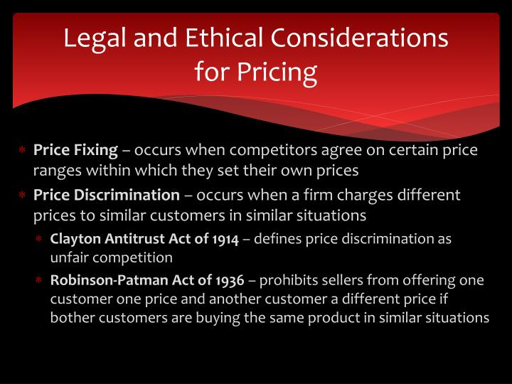 Legal and Ethical Considerations