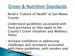 green nutrition standards2