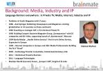 background media industry and ip
