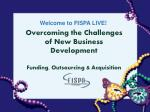 overcoming the challenges of new business development funding outsourcing acquisition