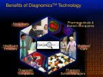 benefits of diagnomics tm technology