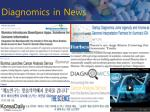 diagnomics in news