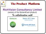 the product platform