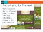 remarketing for preneed