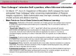 dear colleague reiterates doe s position offers little new information
