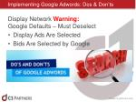 implementing google adwords dos don ts12