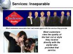 services inseparable
