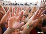 social media and the crowd