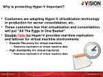 why is protecting hyper v important
