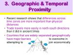 geographic temporal proximity