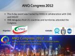 anq congress 2012