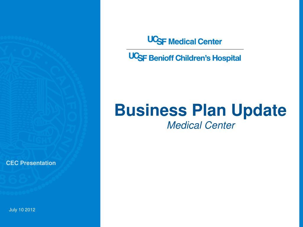 medical center business plan