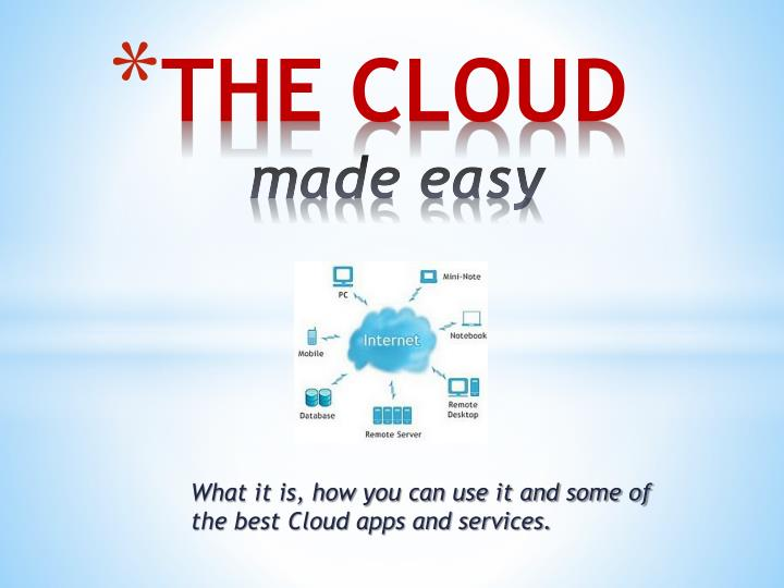 the cloud made easy n.
