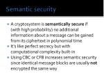 semantic security